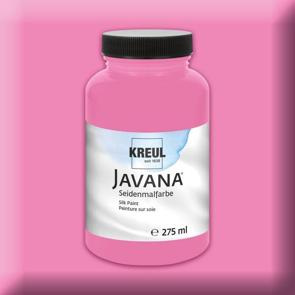 Javana Seidenmalfarbe 275ml leuchtrosa