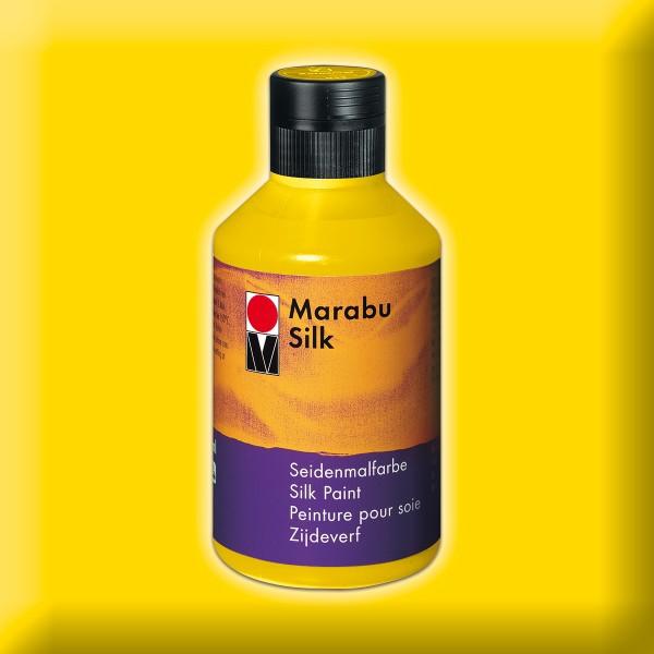 Marabu Silk 250ml mittelgelb Seidenmalfarbe