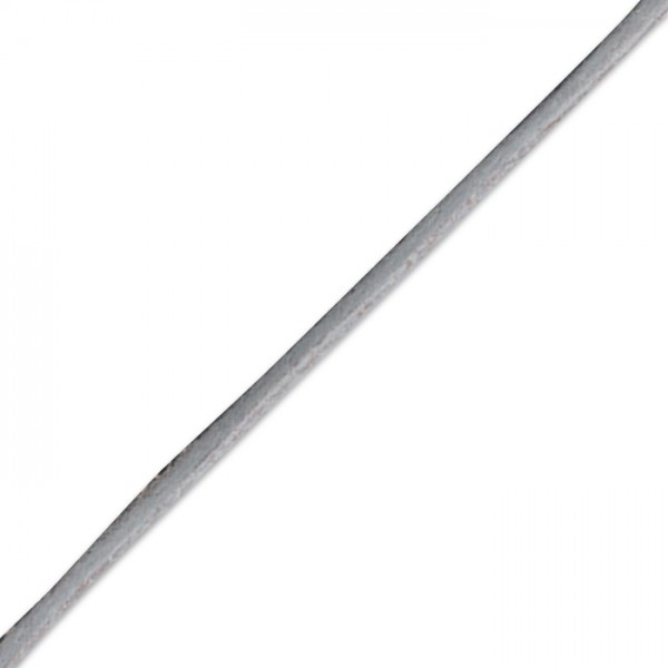 Kordel gewachst 1mm 10m grau Synthetik