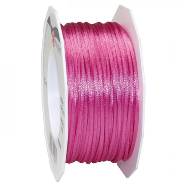 Satinschnur 2mm 50m pink 100% Polyester