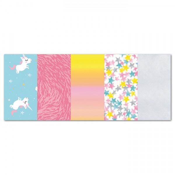 Decoupagepapier Pocket 5 Bg. Set 19 von Décopatch, Bogen je 30x40cm, 20g/m²