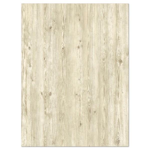 Decoupagepapier Holz weiß geölt von Décopatch, 30x40cm, 20g/m²