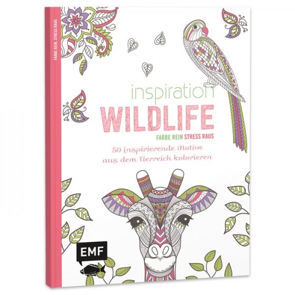 Buch - Inspiration Wildlife 64 Seiten, 22x17cm, Softcover