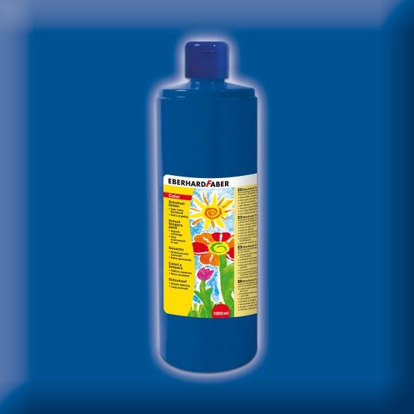 Color-Schulmalfarbe 1.000ml ultramarin