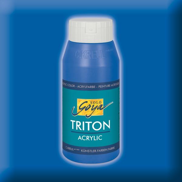 Triton Acrylfarbe 750ml kobaltblau
