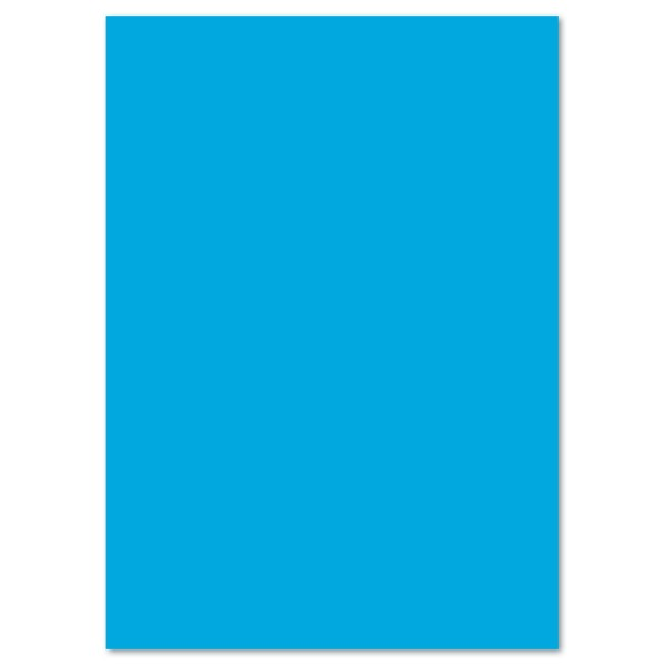 Tonkarton 220g/m² 50x70cm 25 Bl. pazifik