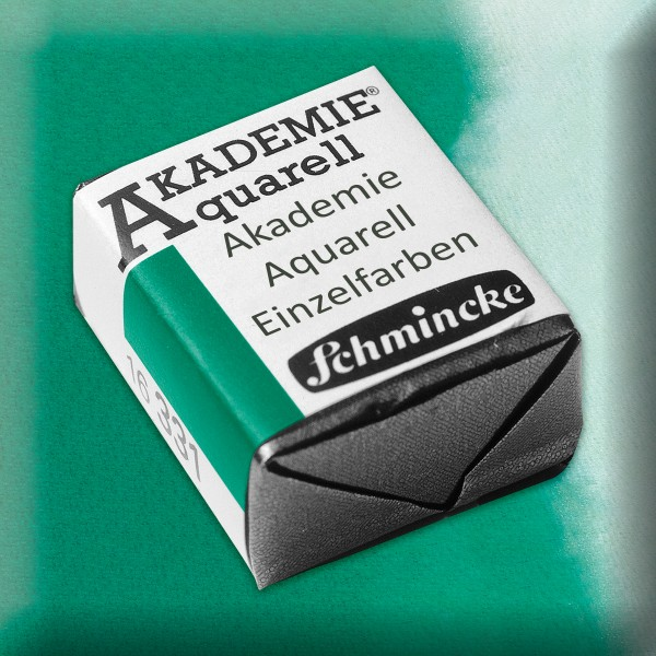 Akademie Aquarell 1,6ml brillantgrün ½ Näpfchen