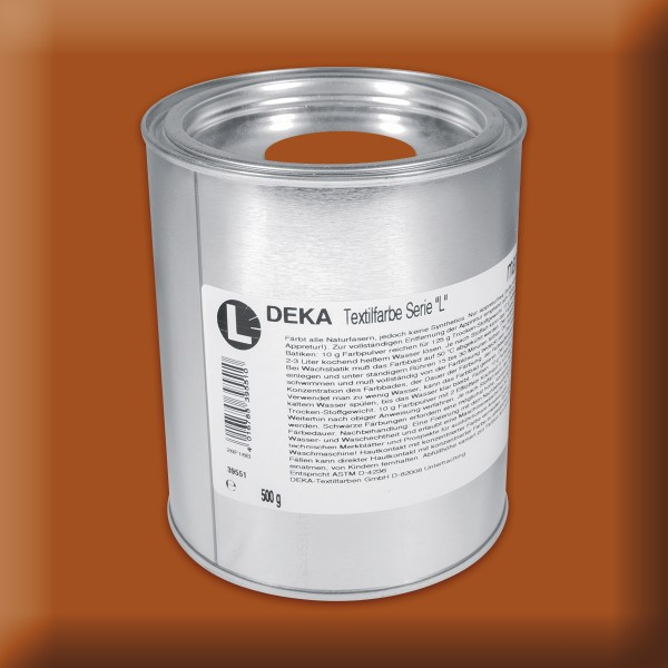 Deka-Serie L Textilfarbe 500g kastanienbraun
