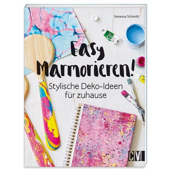 Buch - Easy Marmorieren! 64 Seiten, 16,7x22cm, Softcover