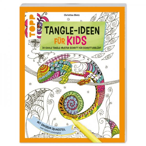 Buch - Tangle-Ideen für Kids 80 Seiten, 20x26cm, Softcover