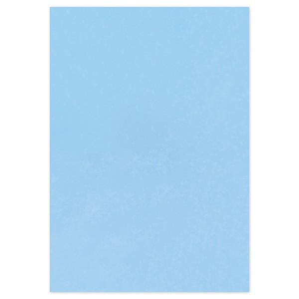 Transparentpapier 70x100cm 25 Bl. hellblau Drachenpapier, 42g/m²