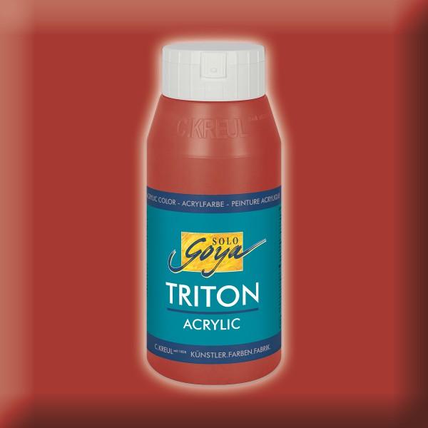 SOLO GOYA Triton Acrylic 750ml oxidrot