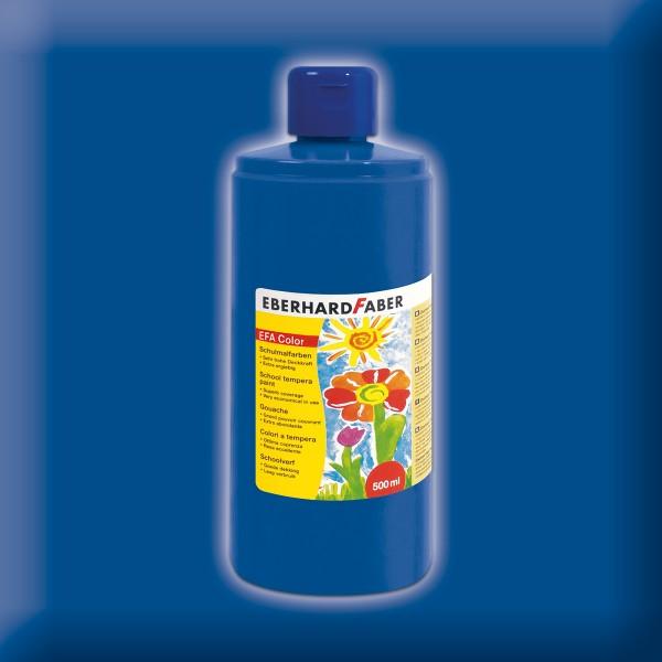 Color-Schulmalfarbe 500ml kobaltblau