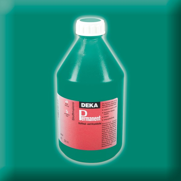 Deka-Permanent Stoffmalfarbe 500ml hellgrün