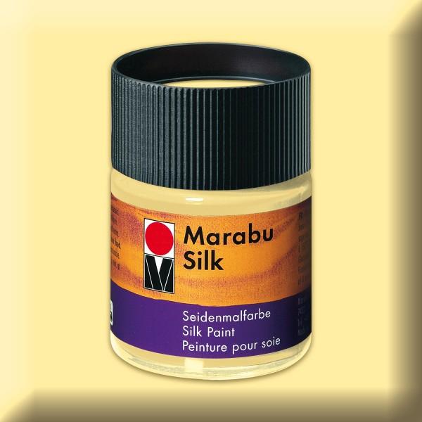 Marabu Silk 50ml vanille Seidenmalfarbe