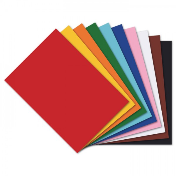 Tonkarton 220g/m² DIN A4 100 Bl./10 Farben