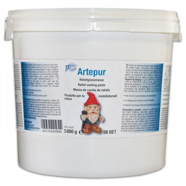 Artepur Modellgips 5kg weiß