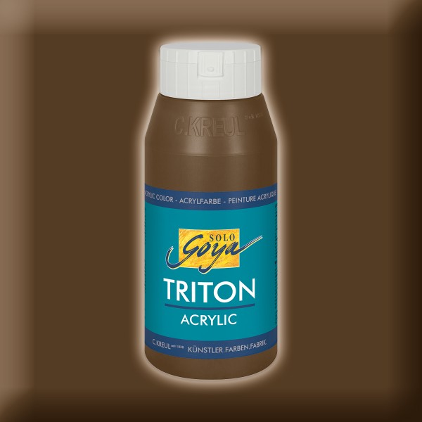 Triton Acrylfarbe 750ml havannabraun