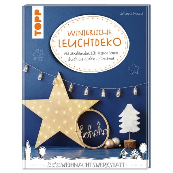 Buch - Winterliche Leuchtdeko 80 Seiten, 25,1x19,5cm, Hardcover