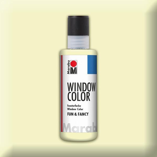 Marabu fun&fancy 80ml Nachtleuchtgelb Windowcolor