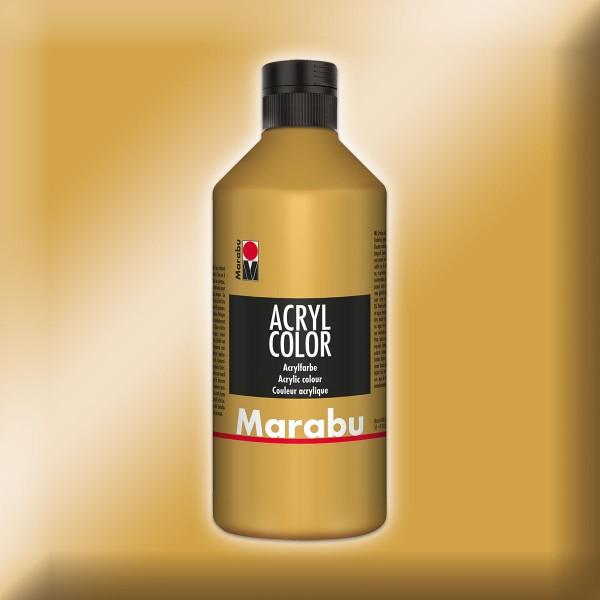 Marabu Acryl Color 500ml goldfarben