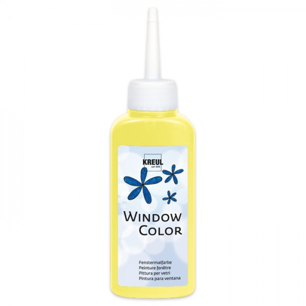Kreul Window Color 80ml leucht-gelb