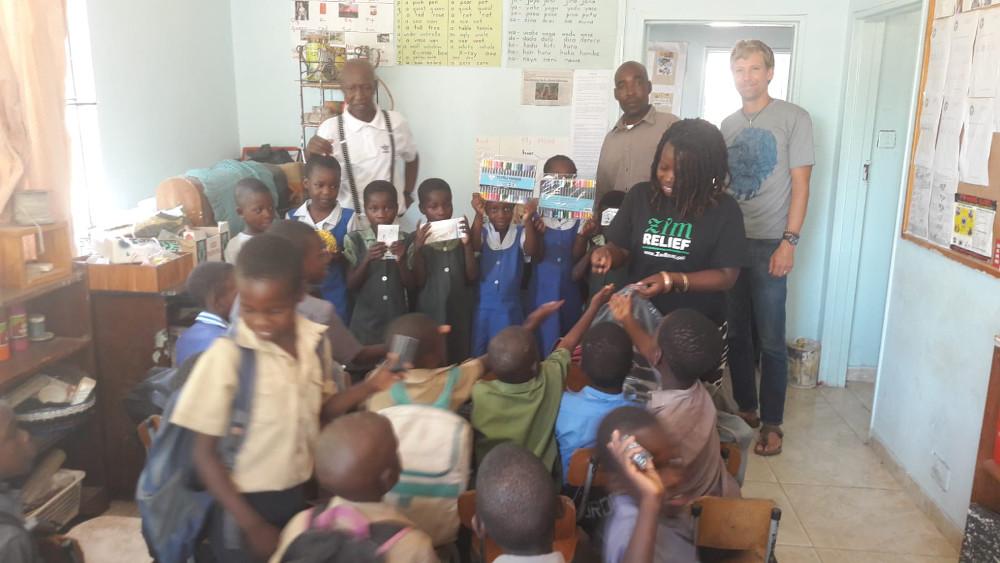 Irseer Kreis Versand-Spendenpaket nach Simbabwe