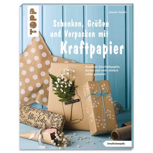 Buch - Schenken, Grüßen & Verpacken mit Kraftpapier 48 Seiten, 16,4x21,8cm, Softcover