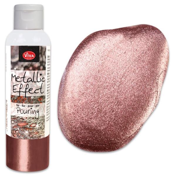 Metallic Effect für Pouring 120ml rosé-gold Metallic-Farbe