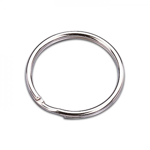 Schlüsselringe Metall Ø 20mm 100 St. platinfarben