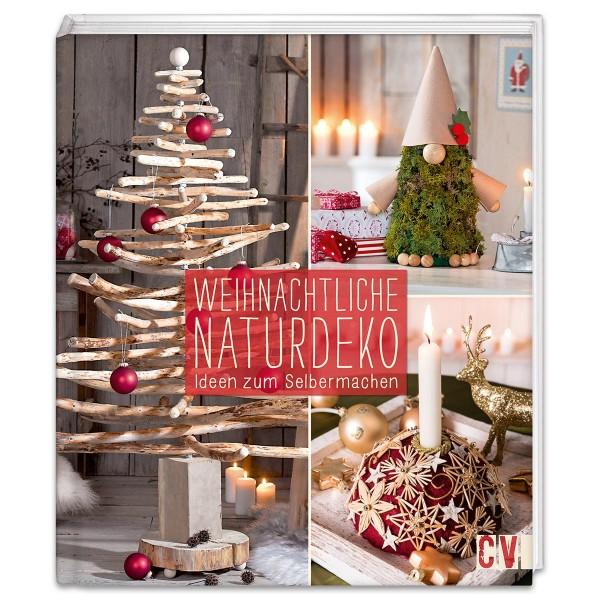 Buch - Weihnachtliche Naturdeko 80 Seiten, 22,1x25,7cm, Hardcover