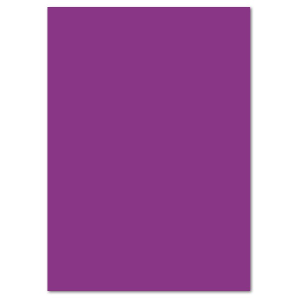 Fotokarton 300g/m² 50x70cm 10 Bl. aubergine