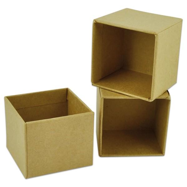 Pappboxen 52x52x45mm 3 St. quadratisch