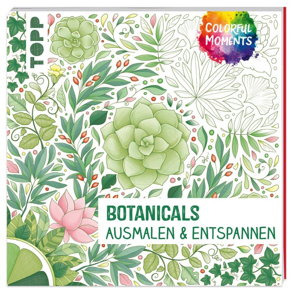 Buch - Colorful Moments - Botanicals 96 Seiten, 19x19cm, Softcover