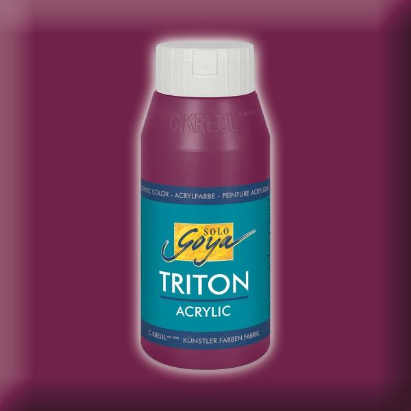 Triton Acrylfarbe 750ml bordeaux