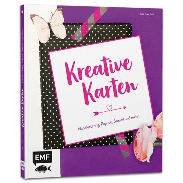 Buch - Kreative Karten 72 Seiten, 23,5x20cm, Hardcover