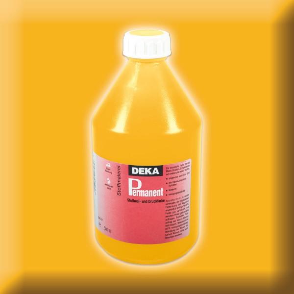 Deka-Permanent Stoffmalfarbe 500ml mandarin