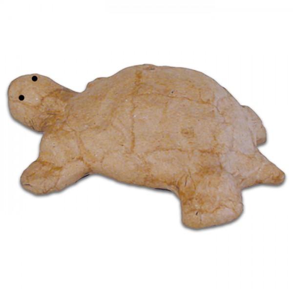 Schildkröte Pappmaché 8,5x11x3,5cm Größe XS, von Décopatch
