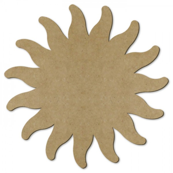 Sonne MDF 3mm ca. 39cm