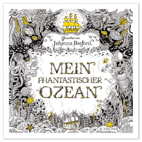 Buch - Mein phantastischer Ozean 88 Seiten, 25x25cm, Softcover