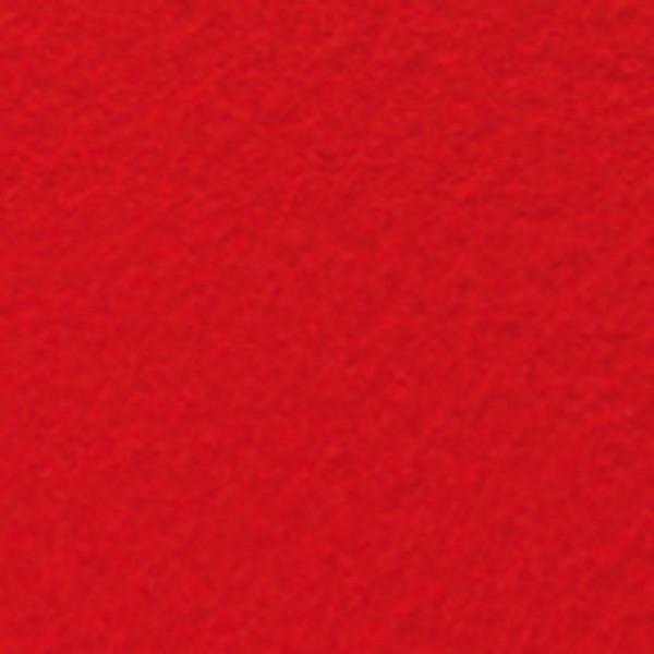 Bastelfilz ca. 1mm 45cm 5m Rolle hochrot 150g/m², 100% Polyester, klebefleckenfrei
