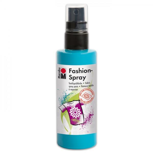 Marabu Fashion-Spray 100ml karibik Textilsprühfarbe für helle Stoffe