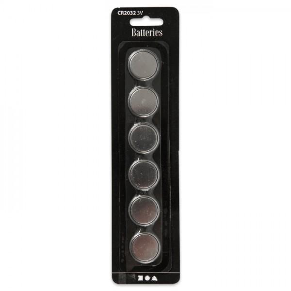 Knopfbatterien 3V 6 St. passend für Teelichter Art.-Nr. 50352332