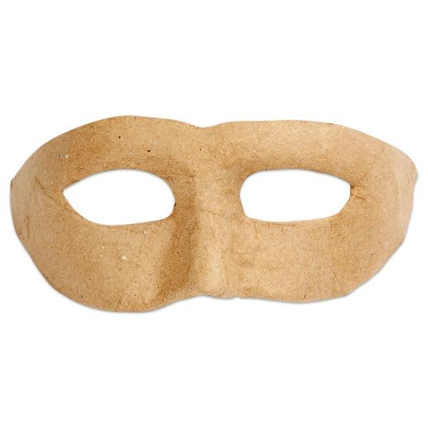 Augenmaske Pappmaché 21x8cm