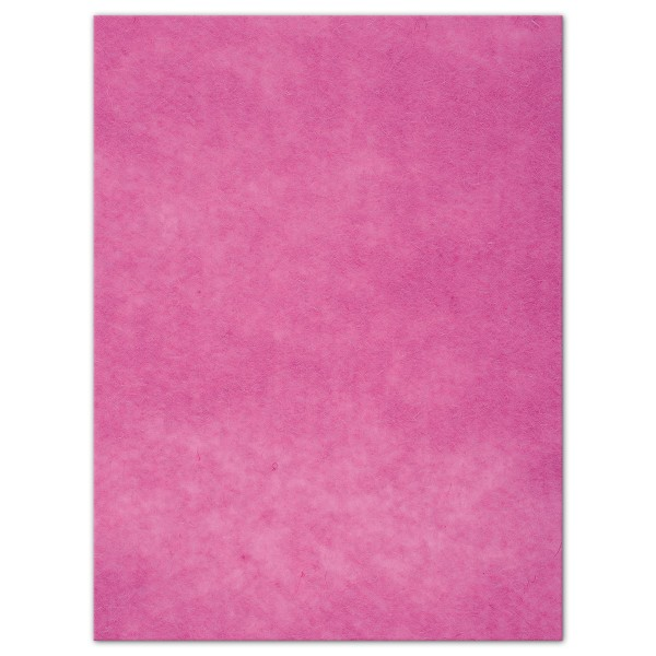 Wollfilz-Platte 4mm 30x40cm pink 70% Polyester, 30% Wolle