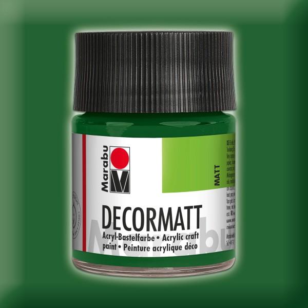 Decorlack Acryl matt 50ml olivgrün
