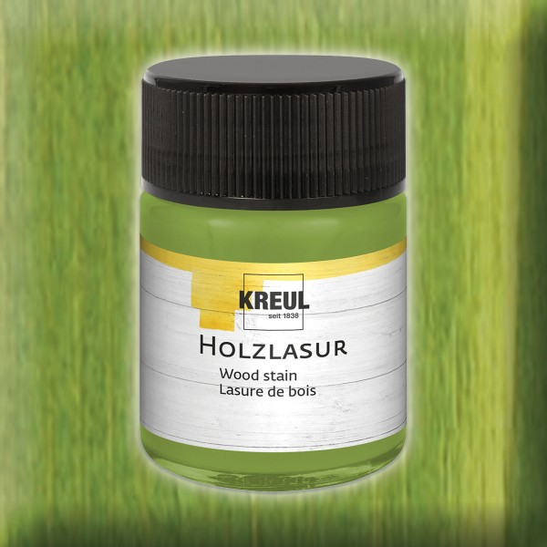KREUL Holzlasur 50ml pistazie