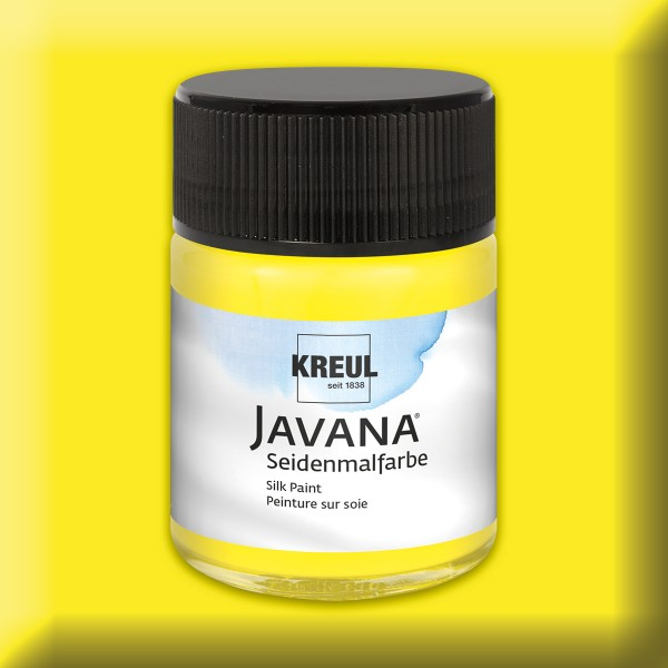 Javana Seidenmalfarbe 50ml gelb
