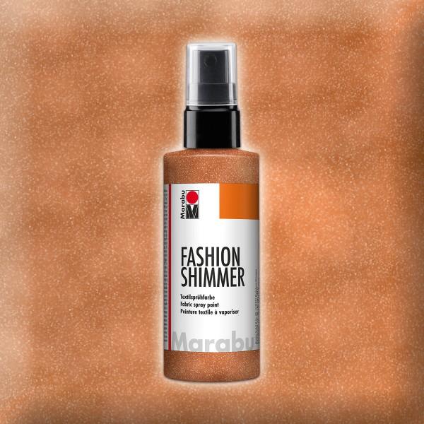 Marabu Fashion-Shimmer 100ml kupfer Textilsprühfarbe