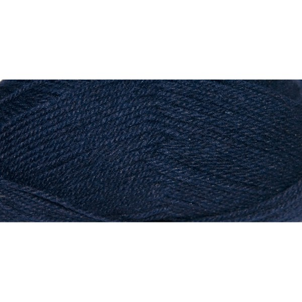 Hauswolle Rustikal ca. 100g marineblau 60% Wolle, 40% Polyacryl